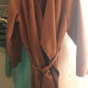 Just Fab Stylish Trench Coat (NWOT)